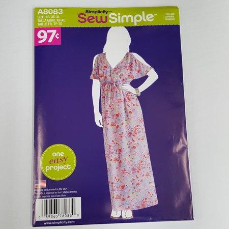 Simplicity Sew Simple Misses Dress Walmart Best Walmart Dress Patterns