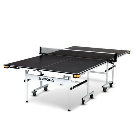 JOOLA Motion 15 mm Official Size 2-Piece Indoor Table Tennis Table, Black