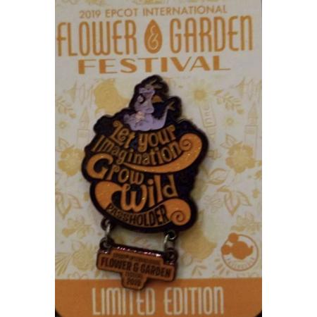 Disney Flower Garden 2019 Figment Let Your Imagination Grow Wild Passholder Pin