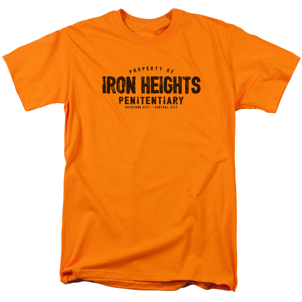 Jla Iron Heights Mens Short Sleeve Shirt