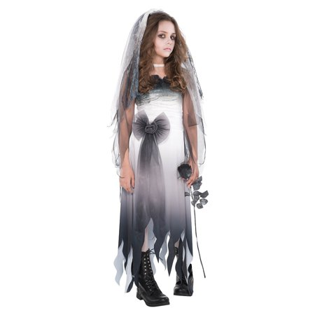 Halloween Graveyard Food (Graveyard Bride Child Costume -)