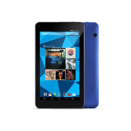 "Ematic EGQ367 16 GB Tablet - 7"" - Wireless LAN - Quad-core (4 Core) 1.20 GHz - Blue 1 GB RAM - Android 5.1 Lollipop"