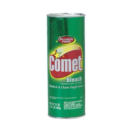 Comet Disinfectant Cleanser with Bleach, 21 Oz