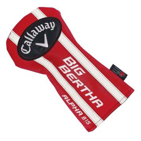 Callaway Big Bertha Alpha 815 Driver Headcover (Red/White) Golf