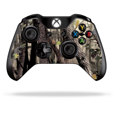 MightySkins Skin for Microsoft Xbox One or One S Controller - Tree Camo | Durable, and Unique Vinyl wrap cover | Easy to Apply and Change Style | Made in the USA