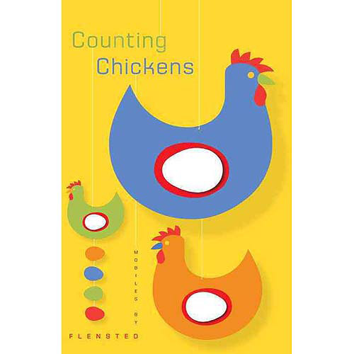 Counting Chickens: Mobiles by Flensted