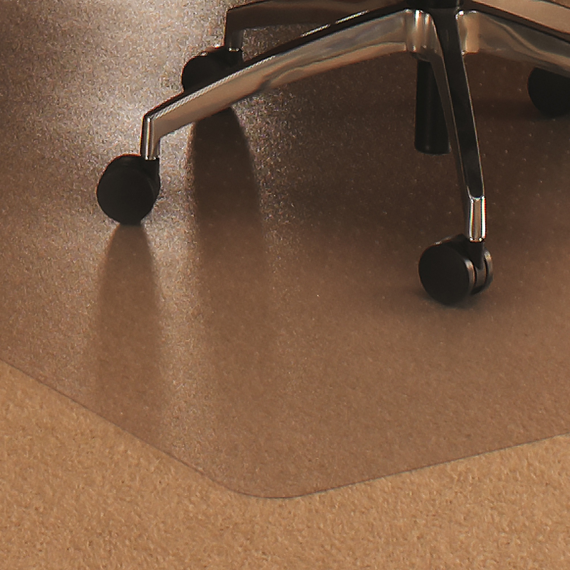 Cleartex Ultimat 35 x 47 Plush Pile Carpet Chair Mat, Rectangular