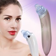 Blackhead Removal Electronic Facial Pore Cleaner Acne Remover Utilizes Pore Vacuum Extraction, Comedone Extractor (Pink)