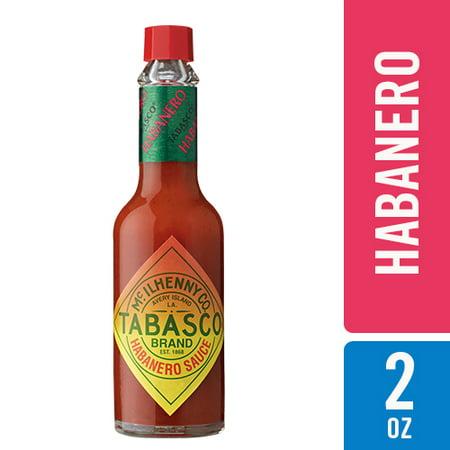 Tabasco Habanero Pepper Sauce, 5 Oz (Mild Habanero Pepper Sauce)