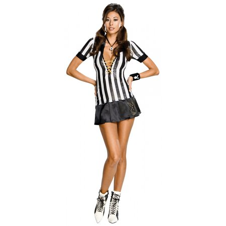 Playboy Sexy Referee Adult Costume - Small - Referee Costumes For Women