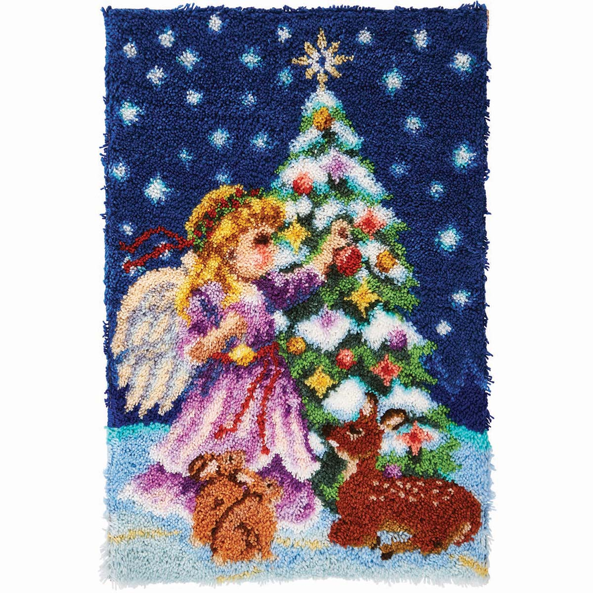 Herrschners® Christmas Angel Latch Hook Kit