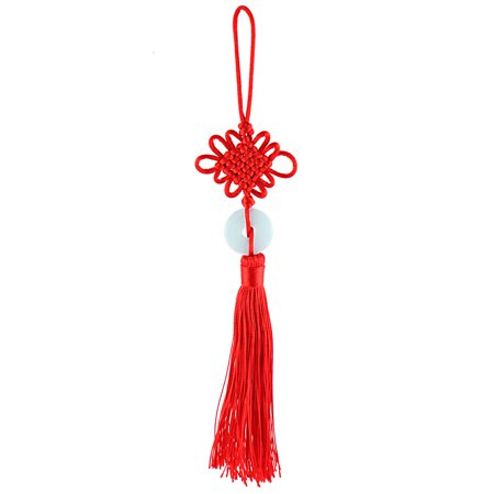 Home Hanging Decor Chinese Knot Red Tassel Pendant 10