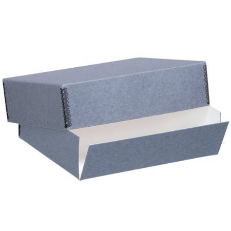 Lineco Archival 14x18x3, Exterior Color: Blue / Gray.