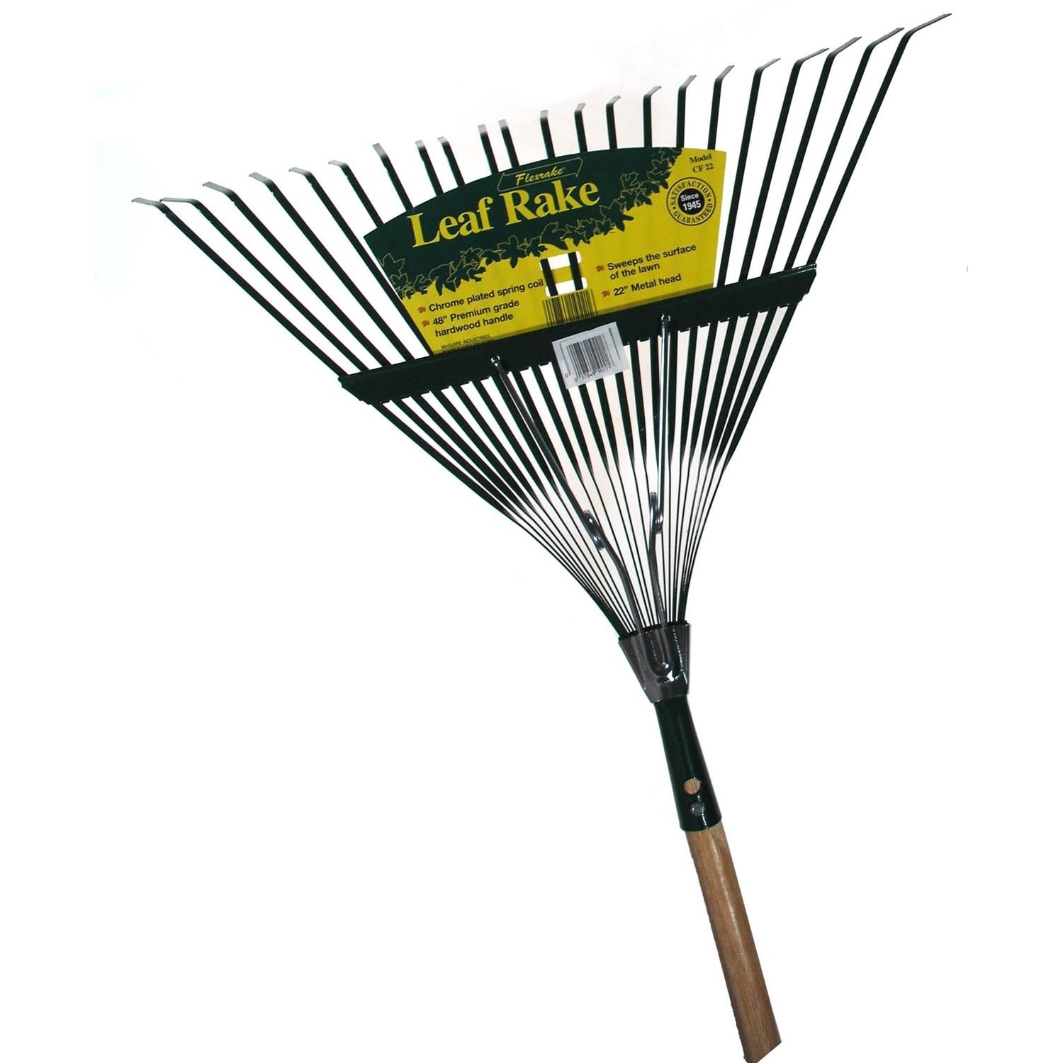 Flexrake CF22 48 in Handle 22 in Medium Spring Action Leaf Rake
