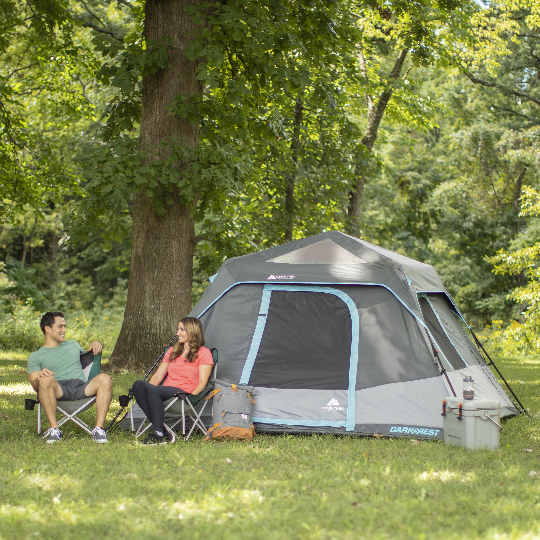 Tents Ozark Trail 6-Person Family Dark Rest Instant Cabin Tent