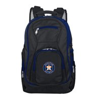 MLB Houston Astros Premium Laptop Backpack with Colored Trim
