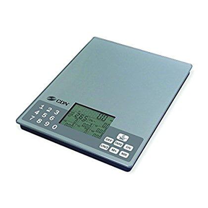 CDN SD1106 - Digital Nutrition Scale, 11 lb, - Kitchen Food Scale