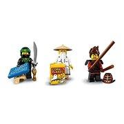LEGO Ninjago Movie Minifigures Lloyd, Kai, and Sensei Wu Minifigures