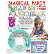 ScrapSMART Magical Party for Wizards and Witches: Decorations, Crafts and More CD-ROM