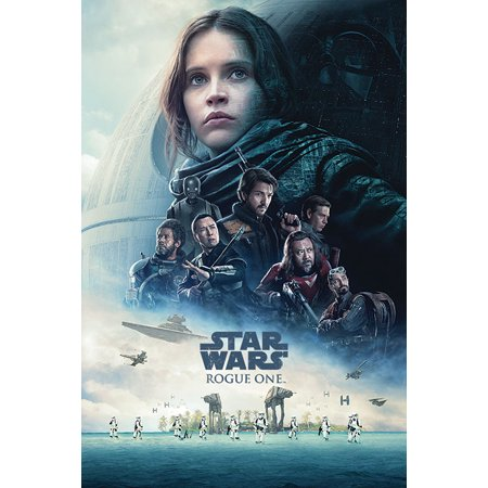 Star Wars: Rogue One - Movie Poster / Print (Regular Style / One Sheet Design) (Size: 24