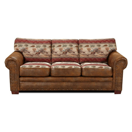 American Furniure Classics Deer Valley Sofa Bed, Brown ()