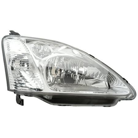 2002-2003 Honda Civic Hatchback Passenger Right Side Headlight Lamp Assembly