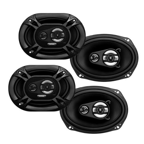"4) Soundstorm SSL EX369 6x9"" 3-Way 300 Watt Car Audio Stereo Coaxial Speakers"