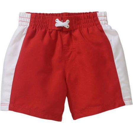 Op Newborn Baby Boy Side Stripe Swim Trunks