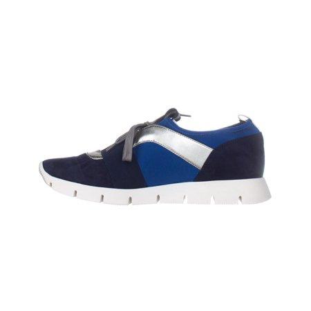 Nine West Welldone Fashion Sneakers, Navy Multi - image 2 de 6