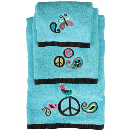 (Challis & Roos™ World of Peace Towel Set 3 pc Pack)
