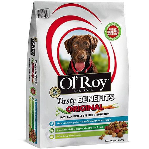 Ol' Roy Tasty Benefit Dog Food, 15 lbs