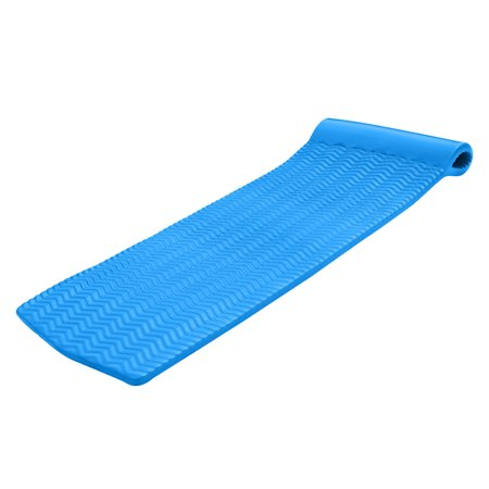- Texas Recreation Serenity 70 Inch Foam Mat Raft Lounger Pool Float, Bahama Blue
