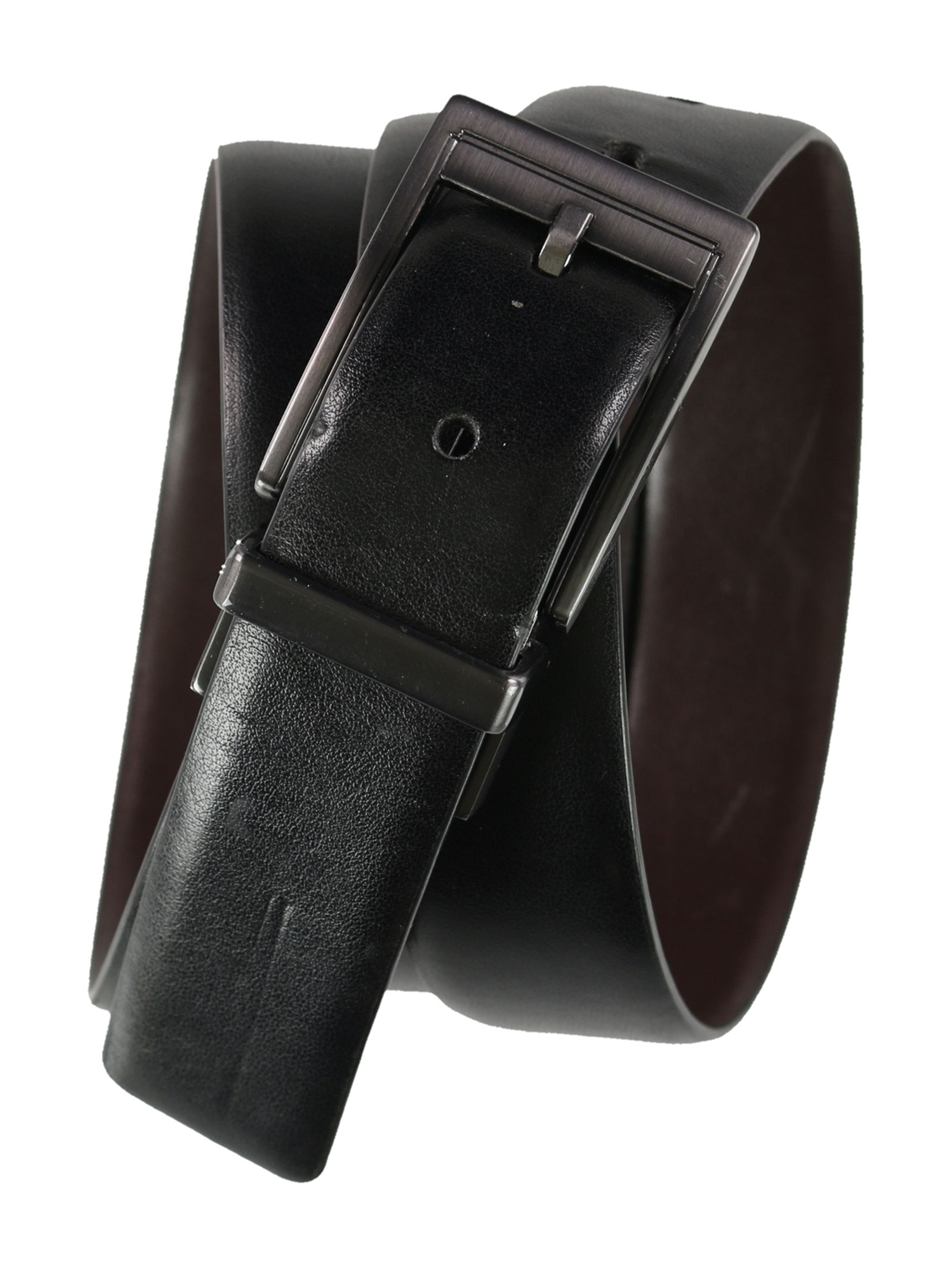 38 Alfani Reversible Dress Belt Black//Brown