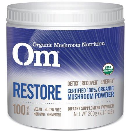 Mushroom Matrix Critical Matrix Drink Powder  200 Grams  Certified 100  Organic Medicinal Mushrooms     By Om Organic Mushrooms Ship From Us