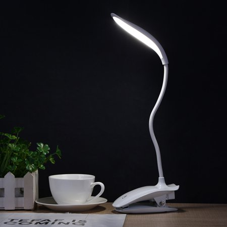 LED Table Lamp With Clip Bed Reading Book Night Light Eye Protection Led Eye Safety