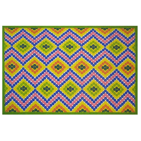 "Fun Rugs Fun Time Diamonds Kids Rugs  39"" x 58"" Rug"