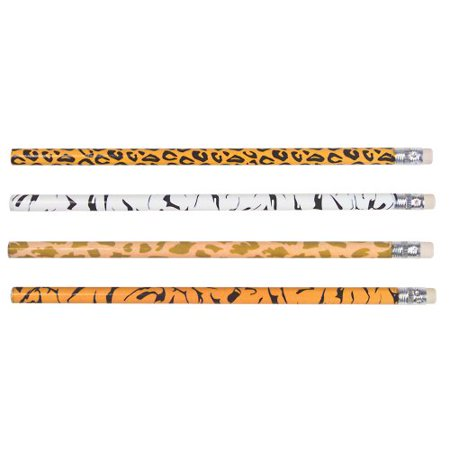 Dozen Animal Print Pencils - Animal Print Pencils