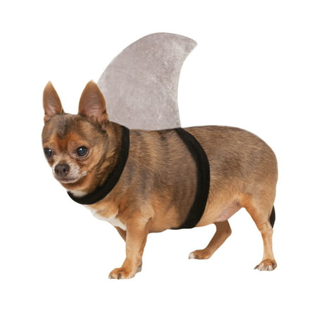 Shark Fin Sharknado Pet Dog Cat Halloween Pool Party Costume](Dog Carrying Present Halloween Costume)