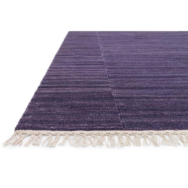 Loloi Anzio 5 X 7 6 Quot Flat Weave Wool Rug In Purple