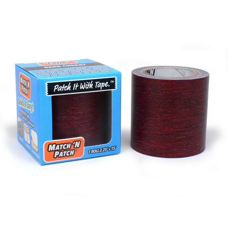 - Match 'N Patch Dark Cherry Wood Repair Tape, 2.25 in. x 15 ft