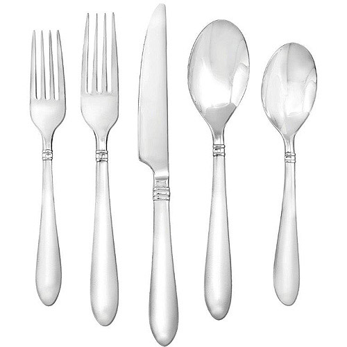 Farberware Annotto 45-Piece Flatware Set