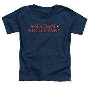 Madam Secretary Logo Little Boys Shirt
