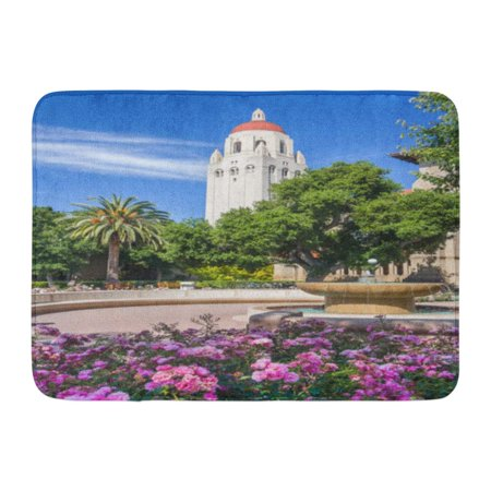 GODPOK America Palo Alto Ca USA Circa June 2011 The Hoover Institution in Stanford University Campus California Rug Doormat Bath Mat 23.6x15.7 (Stanford Store Palo Alto)