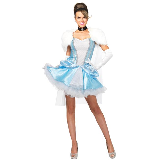 Morris Costumes UA85406LG Cinderella Slipperless 3 Piece Costume, Large - image 1 of 1