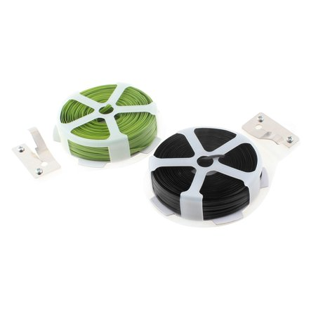 Unique Bargains Gardening Packing Crafts Twist Tie Roll Strapping String Tape Cutter 2pcs