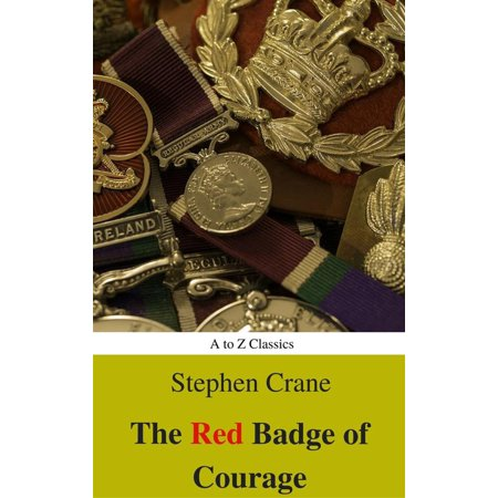 The Red Badge of Courage (Best Navigation, Active TOC) (A to Z Classics) -