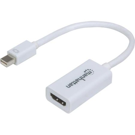 Manhattan Mini-DisplayPort to HDMI Adapter - Mini DisplayPort/HDMI for Audio/Video Device - 1.35 GB/s - 6.70