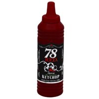 78 Red Spicy All Natural Ketchup, 17.2 oz, (Pack of 6)