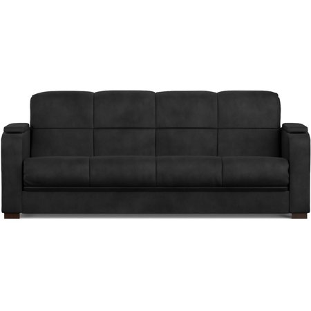 Tyler Storage Arm Convert A Couch And Sofa Bed Microfiber With Set Of 2 Prolounger Wall Hugger Recliners