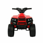 Topcobe Electric Kids Ride on Car, Children 6V Battery Powered Ride on Toys for Girls Boy W/ 4 Wheels Led Lights, Gift
